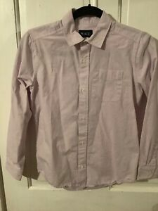 NWOT The Children's Place Boy's Long Sleeve Button-Up Shirt, Size 10-12