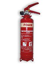 I LTR FOAM  FIRE EXTINGUISHER TAXI CAR BUS BOAT VAN CARAVAN HOME HOUSE OFFICE