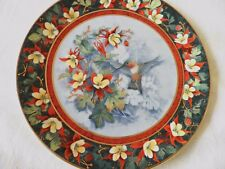 ROYAL DOULTON HUMMING BIRD PLATE 'THE RUFOUS HUMMING BIRD' FRANKLIN MINT