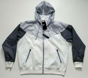 Nike NSW Full Zip Windrunner Jacket Men's  AR2191 100  Size L
