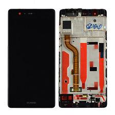 Nuevo Huawei P9 EVA-L09 Pantalla Táctil Digitalizador Conjunto LCD con marco negro