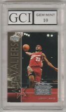 2003-04 Upper Deck LEBRON JAMES Graded GEM MINT 10 Rookie Card RC NBA Cavs King!