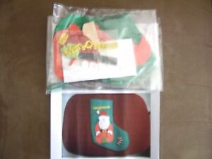 SANTA CHRISTMAS STOCKING CRAFT KIT