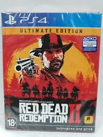 Red Dead Redemption 2 Ultimate Edition PS4 NEW  FACTORY SEALED