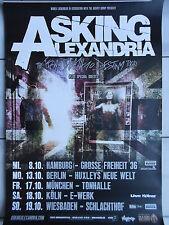 ASKING ALEXANDRIA 2014 TOUR - orig. Concert Poister - Konzert Plakat  A1  NEU