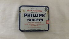 Vintage Phillips Milk Of Magnesia Tablets Tin