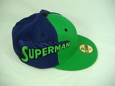 New Era Superman 7 3/8 Fitted Green Purple Cap Hat 59 50 Fifty 58.7 cm 5950 $33