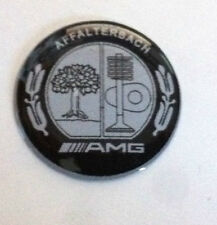"""1 Adesivo Resinato Sticker 3D  Mercedes AMG 27 mm """"knob of the gearshift"""""""