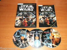 STAR WARS The best of-Battlefront-Republic commando-Empire at War-Kotor Jedi PC