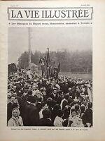 LA VIE ILLUSTREE 1906 N 410- LE DEPUTE RUSSE HERZENSTEIN, ASSASSINE A TERIOKI