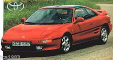 TOYOTA MR2 / MR-2 SPEC SHEET / Brochure / Catalog: 1997,1996,1995,......