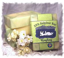 Hierba Luisa Ringling _ jabón Spa mineral azufre hecho en Montana Hecho a Mano Natural