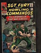 Sgt Fury and his Howling Commandos #33 ~ Grandeur That Was Greece 1966 (5.0) Wh