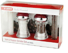 Salt & Pepper Grinder Set With Refills Judge Kitchen Essentials
