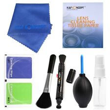 K*F Concept 7 in 1 Portable Lens Camera Cleaning DSLR Kit For Canon Nikon Sony