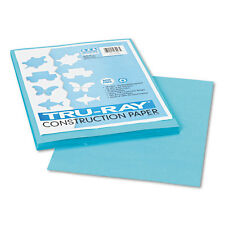 Pacon Tru-Ray Construction Paper,  9 x 12, Turquoise, 50 Sheets/Pack, PK - PAC10
