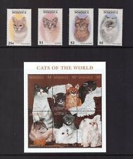 Dominica MNH 1997 Cats, Pets, Animals sheet set mint stamps