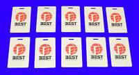 Lot 10 Best Access Systems HID RFID Proximity Card Door Keyless Entry RF Prox