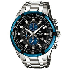 Casio Edifice EF-539D-1A2 EF-539D Screw lock back Watch Brand New