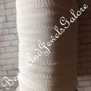 White mesh foe inspired white mesh elastic white mesh hair ties white foe-5/8