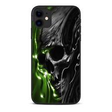 Skins Decal Wrap for Apple iPhone 11 - Dark Skull