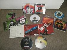 GREEN DAY CD Album Collection x 4 & DVD~BULLET, UNO, BOWLING & SUPERHITS