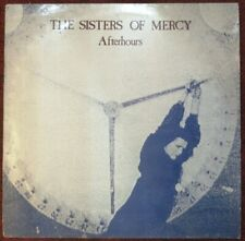 THE SISTERS OF MERCY Afterhours MANCHESTER UNIVERSITY 1984 LP Goth HENDRIX Dylan