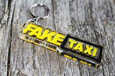 Fake Taxi keychain keyring auto car bag accesory porta-chaves schlüsselanhänger