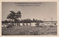 Postcard RPPC Riverbreeze Motel + Motor Court Moncton New Brunswick Canada