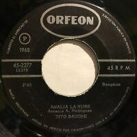 Hear Tito Bauche Arsenio Rodriguez Amalia La Nube Bin Bin Boogaloo Cumbia 1968
