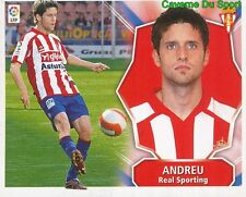 ANDREU ESPANA SPORTING STICKER LIGA ESTE 2009 PANINI