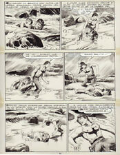 """GALLIENO FERRI -  Zagor  n. 11 """" L'isola della paura """" p. 90"""