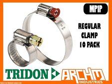 TRIDON MP1P - REGULAR HOSE CLAMP 10 PACK 22MM-38MM MULTIPURPOSE PART STAINLESS