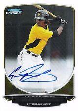 Gregory Polanco 2013 Bowman Chrome Prospects Autograph RC Auto Mint Signature