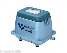 HiBlow HP-60 Komplettpaket m. Verteiler, Schlauch und Luftsteinen 60 L/min. 51W