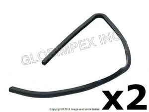 BMW 1602 2002 2002tii (1967-1976) Vent Glass Seal Left and Right (2) URO PARTS