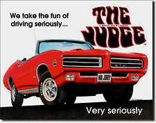* Pontiac GTO MuscleCar Vintage Car Auto Deko Poster Bild Schild Sign 001*