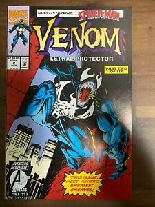 Venom Lethal Protector #2 KEY 1st Appearance Of The Jury! Spider-Man Appears NM+