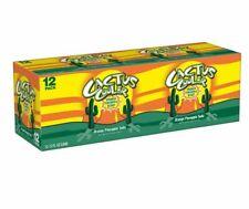 Cactus Cooler Orange Pineapple Blast 12oz Soda Pop Pepsi Brand oz Can 12 Pack