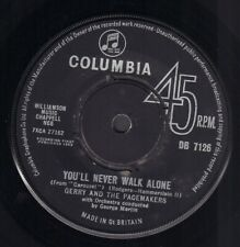 """GERRY & THE PACEMAKERS – You'll Never Walk Alone (1963 UK VINYL SINGLE 7"""")"""