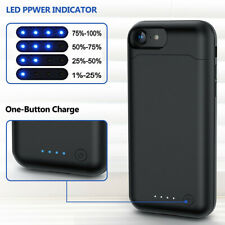 Battery Case For iPhone 7 & 8 6000mAh Phone Power Pack High Capacity