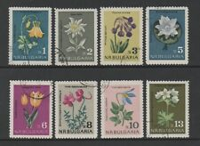 BULGARIA 1963 NATURE PROTECTION (FLOWERS) (SG1400/7) *FINE USED/CTO*