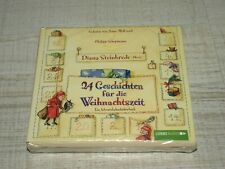 3 CD 24 Geschichten für die Weihnachtszeit-Ein Adventskalenderhörbuch **NEU**