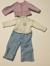 American Girl of Today Long Sleeved Tee Jacket Blue Pants ~ Sporty School Outfit