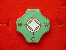UNKNOWN ENAMEL LAPEL BADGE 2