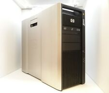 HP Z800 Tower Workstation PC Xeon X5570 Quad Core 2.93GHz 24GB RAM 500GB Win 7 P