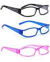 Women READING GLASSES +0.5 +1.0 +2.0 +3.0 +3.5.Eyeglasses  Slim Frame Twigs