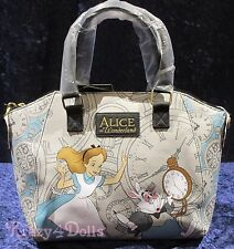 Disney Alice in Wonderland Satchel Handbag/ Pocketbook NEW w/tags!