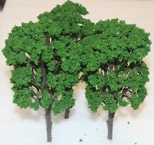 Spur H0 Neuware drei große Laubbäume  Länge 190 mm - dunkles Grün
