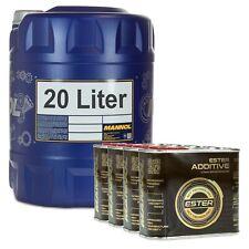 20 Liter MANNOL 20W-50 Safari Motoröl mit 4x500ml MANNOL Ester Additive